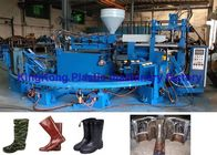China Mono Color Plastic Shoes Making Machine For Short Or Long Boot Wellies factory