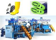China Safety Shoe Injection Molding Machine , Women Rain Boot Shoe Making Equipment factory