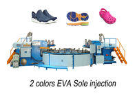 China Horizontal  EVA Shoe Injection Molding Machine For Footwear / Outsole factory