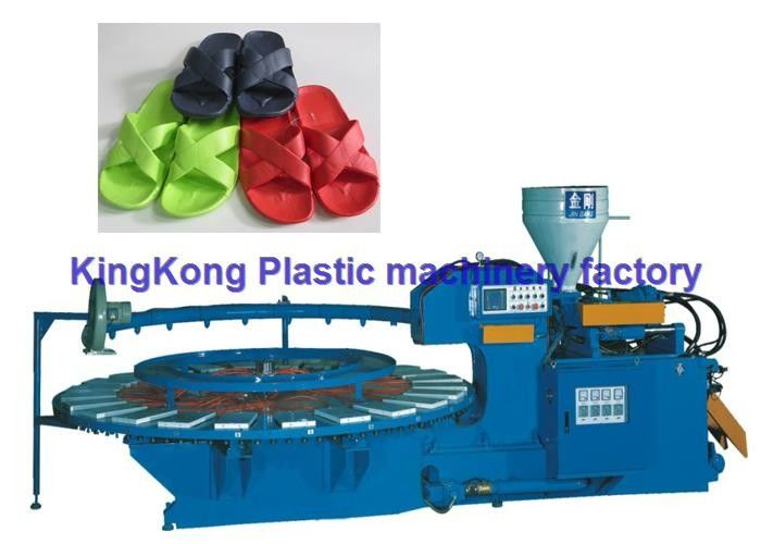 Plastic Shoes Slipper Making Machine / Air Blowing Machine Automatic