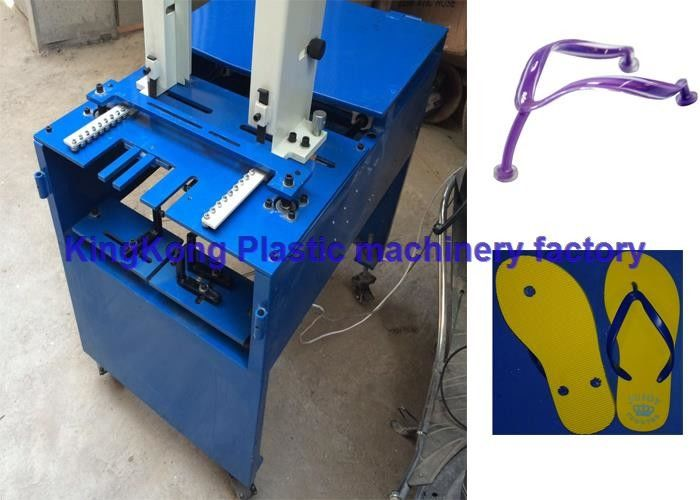 d7d8373eb Rubber Slipper Sole Attaching Machine   EVA PVC Flip Flop Wearing Machine
