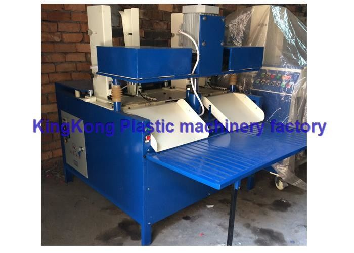 Automatic PVC / EVA Flip Flop Machine Shoe Sole Drilling Machine For 3 Holes
