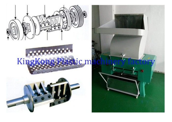 Waste Plastic Crusher Machine For Shoe Material Plastic