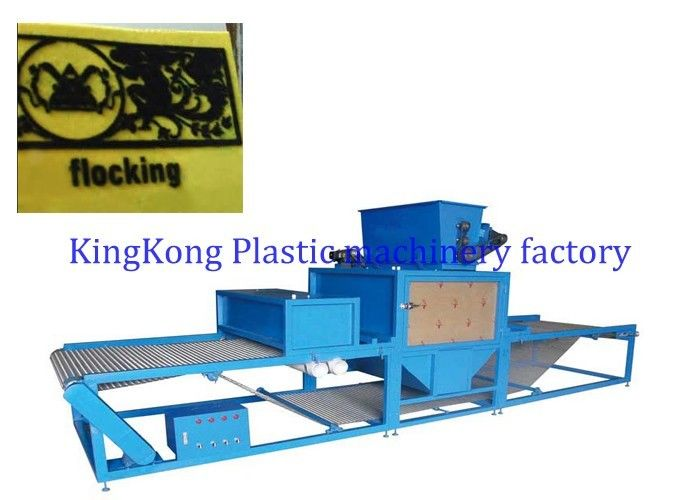 42Kw Velvet Electrostatic Flocking Machine For Holiday Greeting Paper Cards