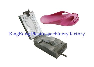 PVC Air Blowing Slipper Mold Footwear Moulds For Rotary Shoe Injection Molding Machine