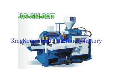 Shoe Injection Molding Machine For T Strap , Shoe Making Machine For Flip Flop T Upper