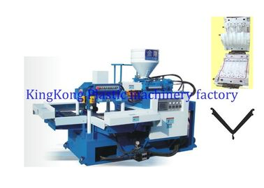 Horizontal Shoe Injection Molding Machine For Ankle Strap / Ladies Slipper