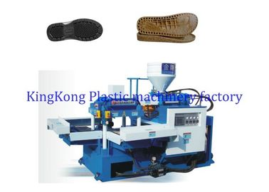 2 Stations Slipper PVC Sole Making Machine For Women Sandal / Flip Flop