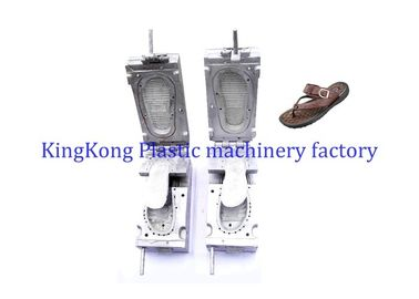 PVC Air Blowing Flat Footwear Moulds For Leather Sandal / Slipper