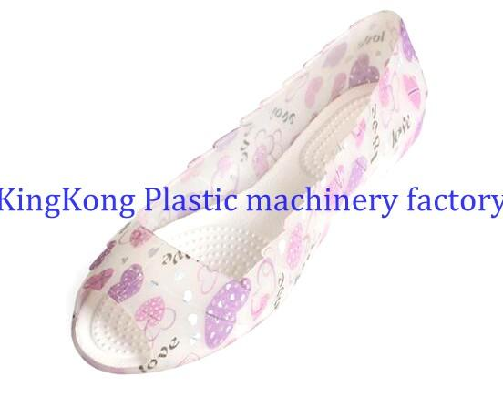 Customized Steel Footwear Moulds PVC Shoe Mold For Plastic Womens Flat Sandals